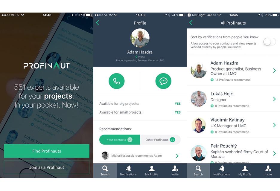 Specjaliści na wynajem - aplikacja Profinaut sposobem na lepszą rekrutację?