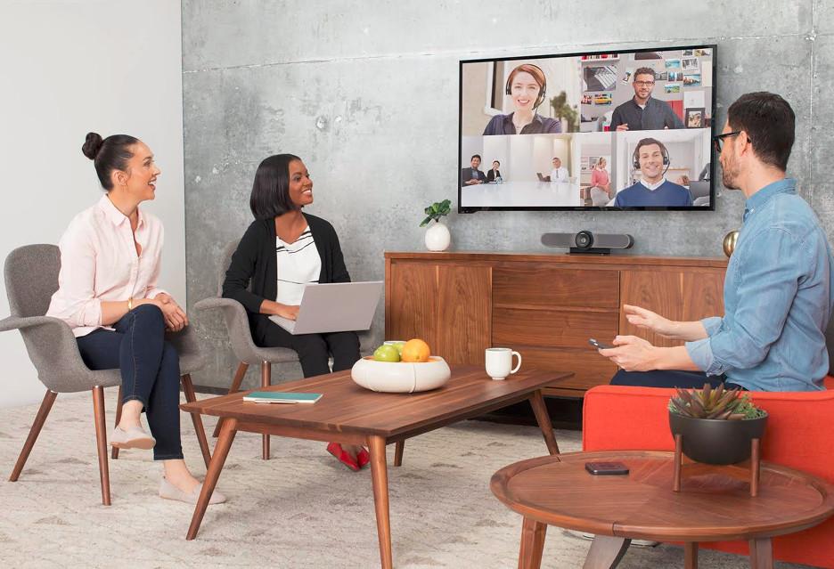 Komfortowa wideokonferencja w małym pomieszczeniu z Logitech MeetUp