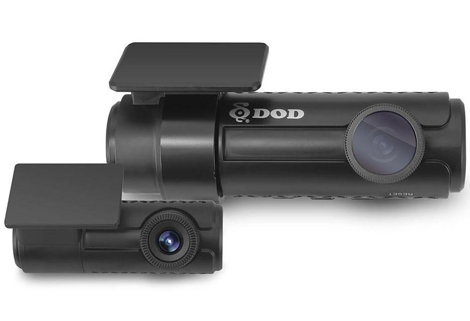Dwie kamery i alarm radarowy - wideorejestrator DOD RC500S