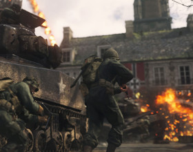 E3 2017: Call of Duty: WWII - 26 minut z trybem multiplayer