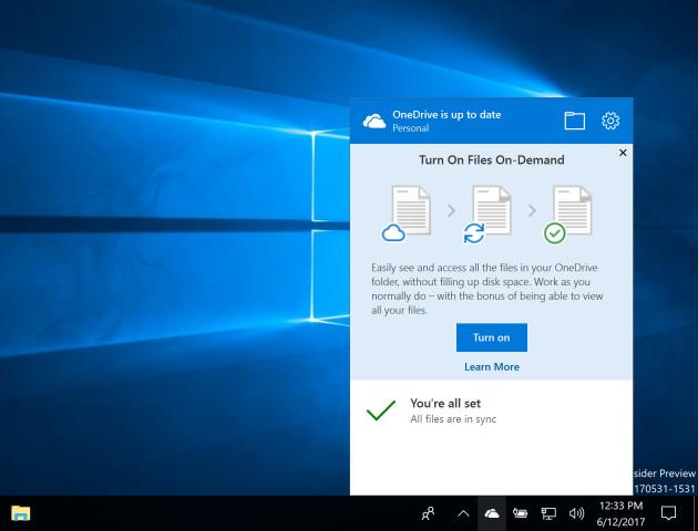 """Windows 10 (wreszcie) z """"plikami na żądanie"""""""