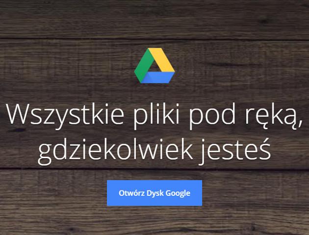 Dysk Google zmienia się na lepsze [AKT. - aplikacja do pobrania]