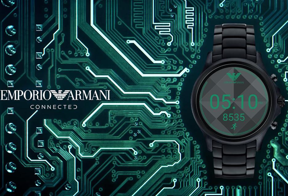 Smartwatch od Armaniego