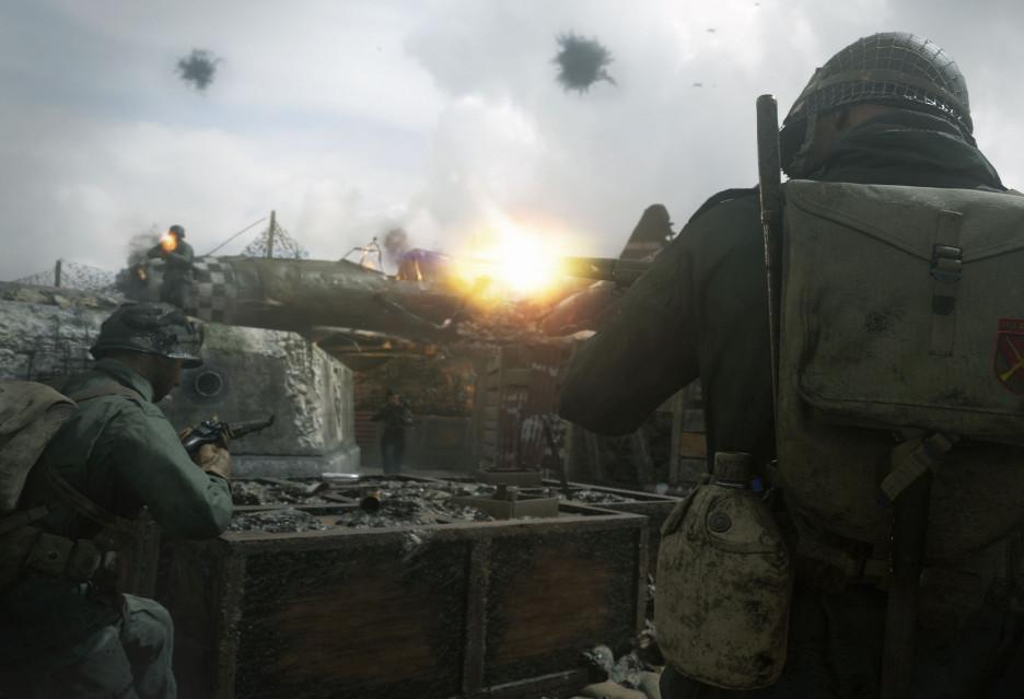 Call of Duty: WWII jednak ze swastykami, ale…