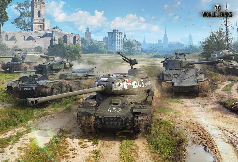 World of Tanks w 4K na Xbox One X (screeny) i z pierwszym polskim czołgiem