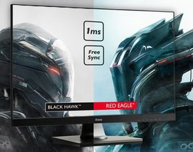 iiyama prezentuje nowe monitory z serii Red Eagle i Black Hawk z FreeSync