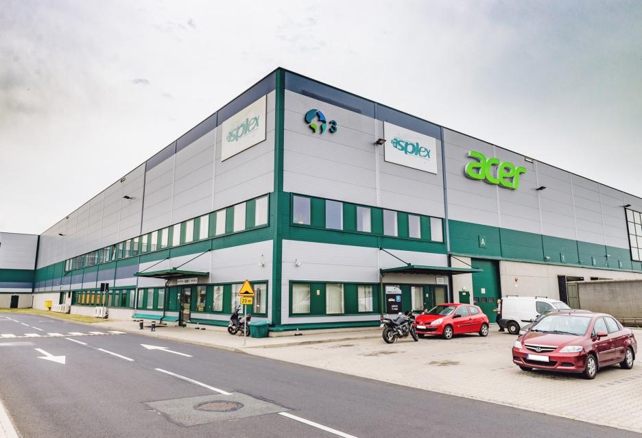 Z wizytą w Asplex - wrocławskim centrum logistyczno-serwisowym Acer (zdjęcia)