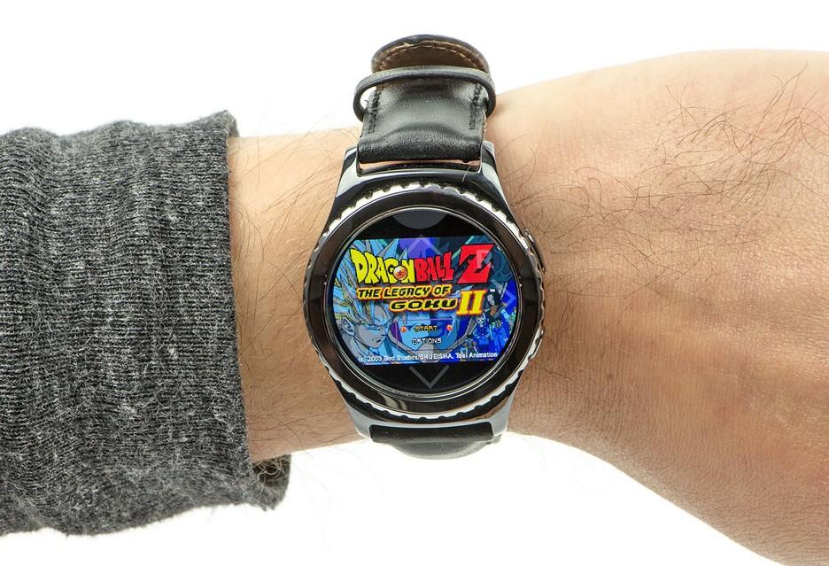 Emulator GameBoya na smartwatchu