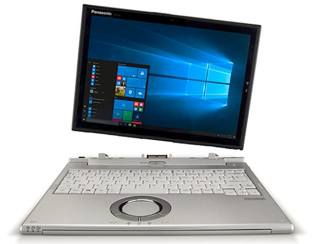 Lekki laptop 2 w 1 do zadań specjalnych - Panasonic Toughbook CF-XZ6
