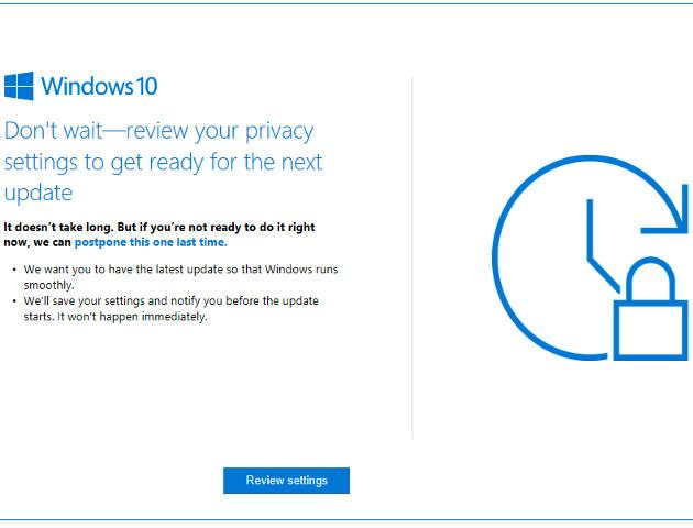 Windows 10 przypomni o aktualizacji [AKT.]
