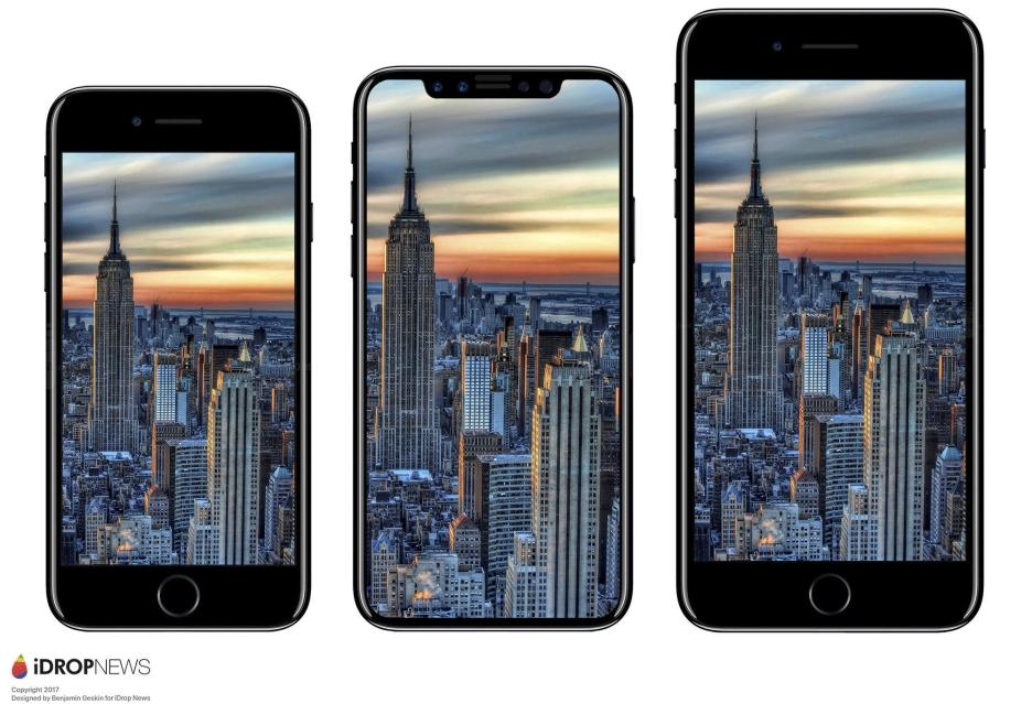 iPhone 8 może nie posiadać czytnika linii papilarnych