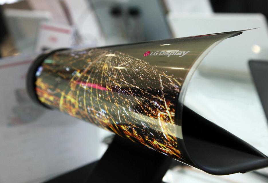 Zwijane telewizory OLED od LG - mogą pojawić się już za kilka lat