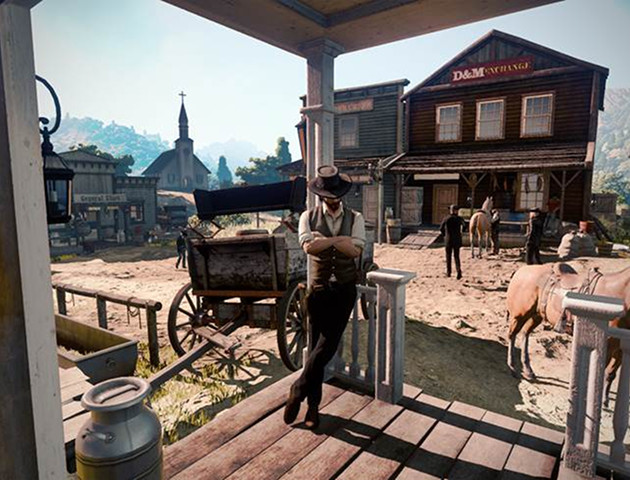 Tak wygląda Wild West Online - gra pomylona z Red Dead Redemption 2