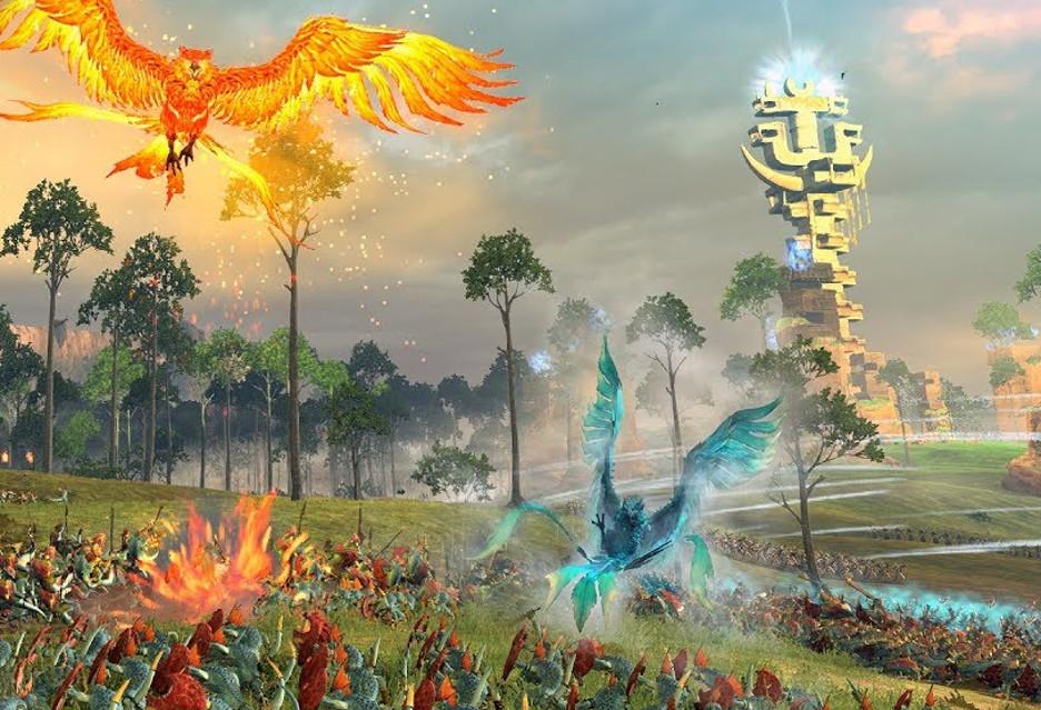 A tak walczą Elfy Wysokiego Rodu w Total War: Warhammer II