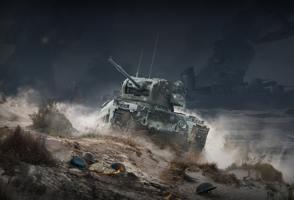 Pamiętajmy o Dunkierce, grając w World of Tanks, Warships i Warplanes