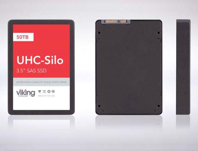 Viking UHC-Silo SSD - dyski SSD o pojemności 25 i 50 TB