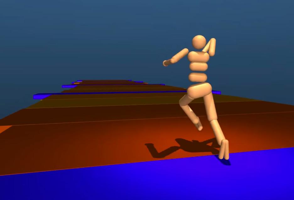 Nauka biegania według DeepMind