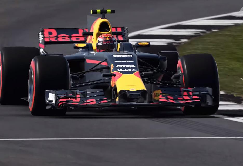Gra F1 2017 okiem Maksa Verstappena