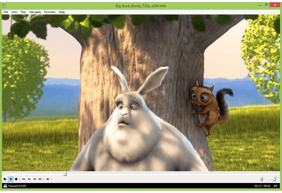 Media Player Classic Home Cinema 1.7.13 - odtwarzacz w wersji ostatecznej