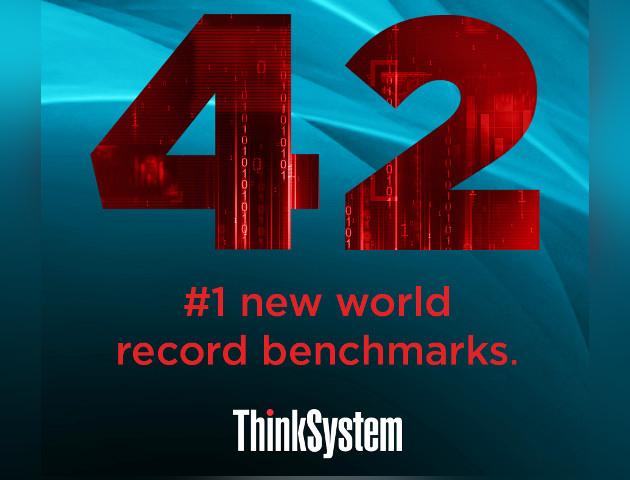 42 rekordy świata serwerów Lenovo ThinkSystem