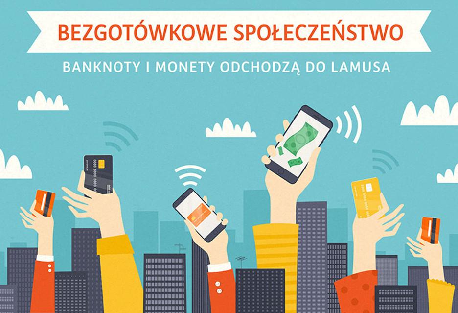 Polacy - społeczeństwo (coraz bardziej) bezgotówkowe