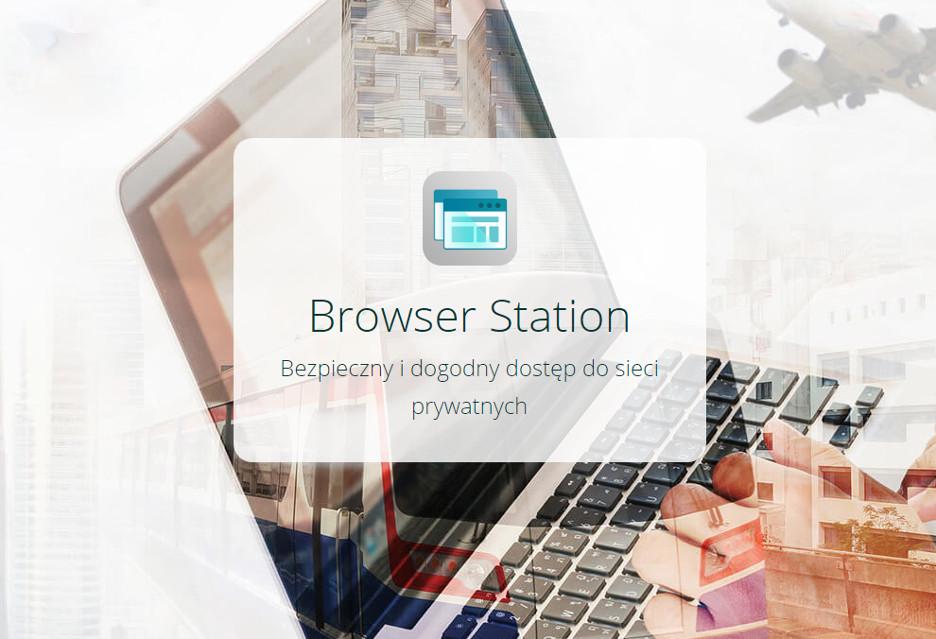 QNAP ułatwia dostęp do prywatnych sieci - aplikacja Browser Station