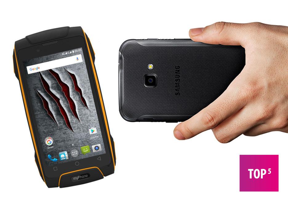 Dobry odporny telefon - TOP 5 | zdjęcie 1