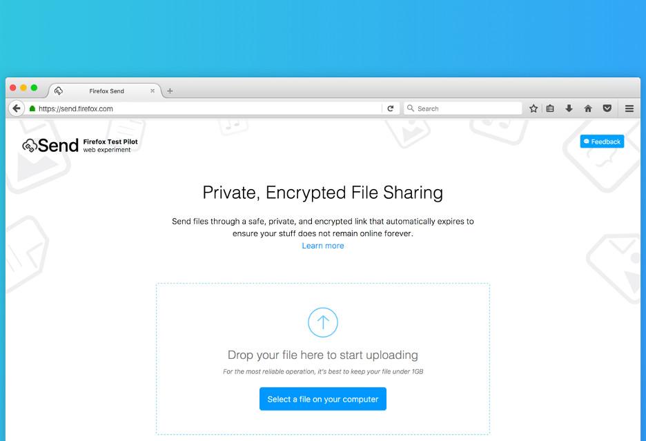 Szybkie przesyłanie plików z autodestrukcyjnym linkiem - Send od Mozilli