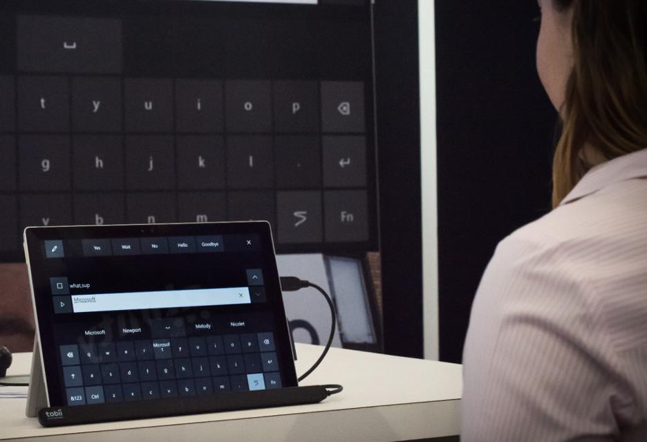 Windows 10 (wkrótce) obsłuży śledzenie ruchów gałki ocznej