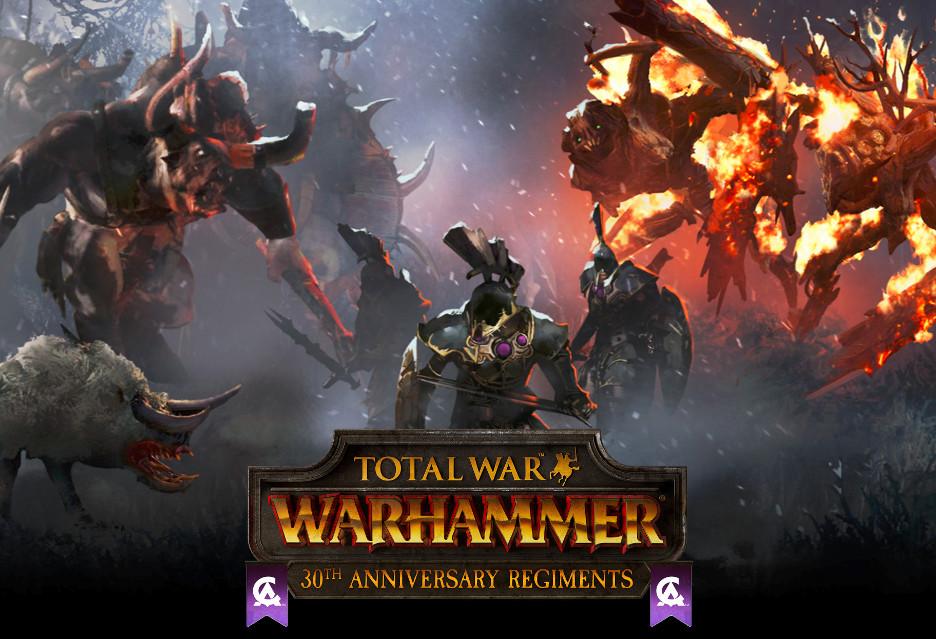 30. urodziny Creative Assembly i 30 jednostek do Total War: Warhammer