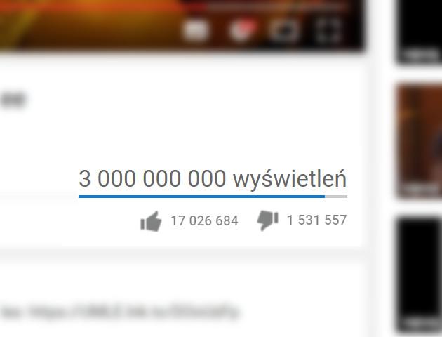 """Pierwszy film z 3 miliardami odsłon na YouTube - """"Despacito"""""""