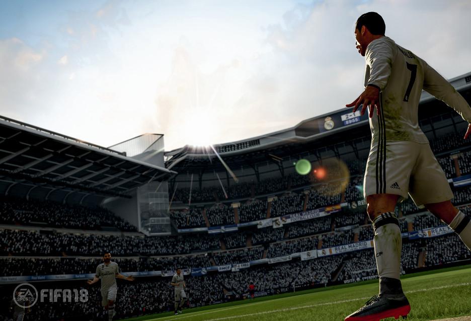 17 minut z FIFA 18 - Real vs Real