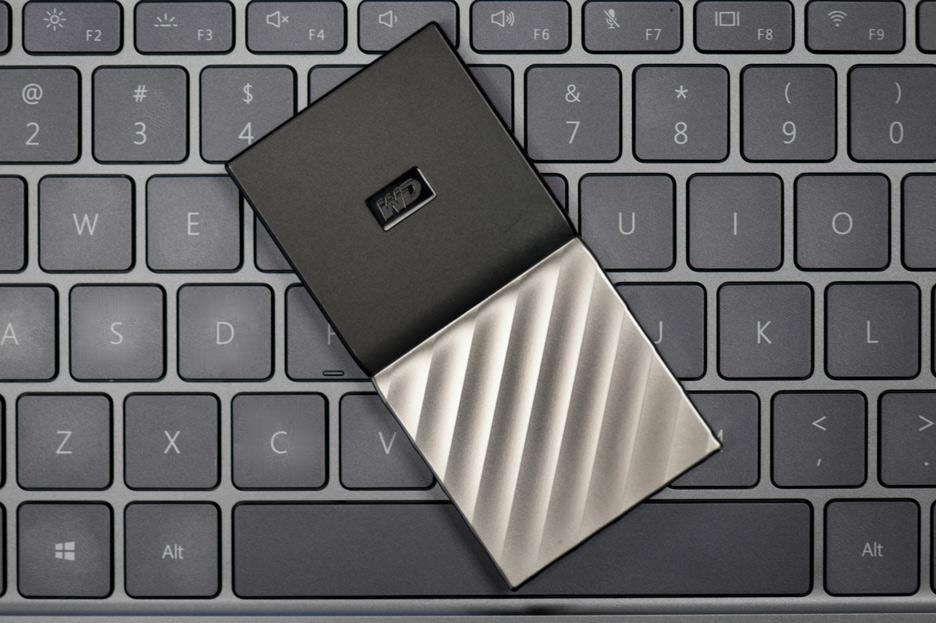 WD My Passport SSD - szybki, mały i lekki dysk przenośny | zdjęcie 1