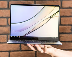 Huawei MateBook X - jabłko z Windowsem