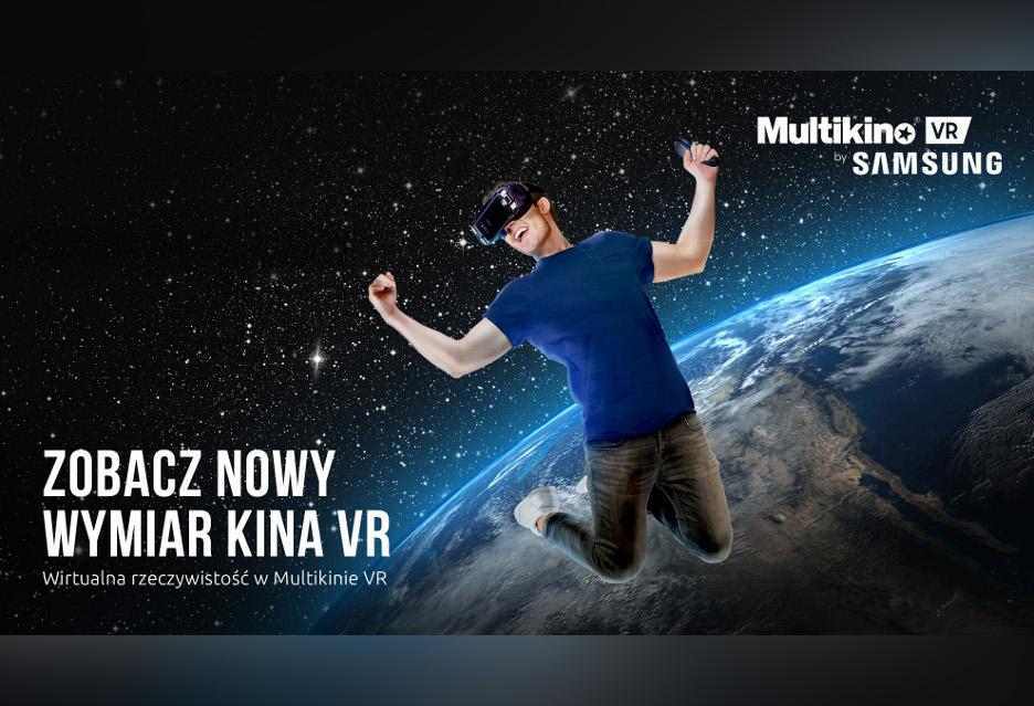 Kino VR w Warszawie - Multikino i Samsung zapraszają