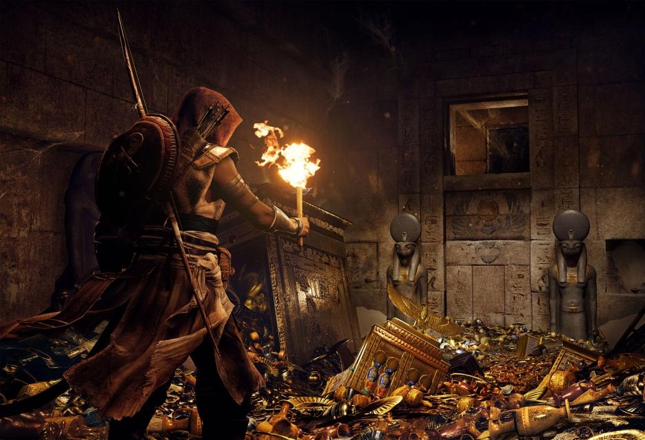 W Assassin's Creed: Origins będziemy zwiedzać grobowce