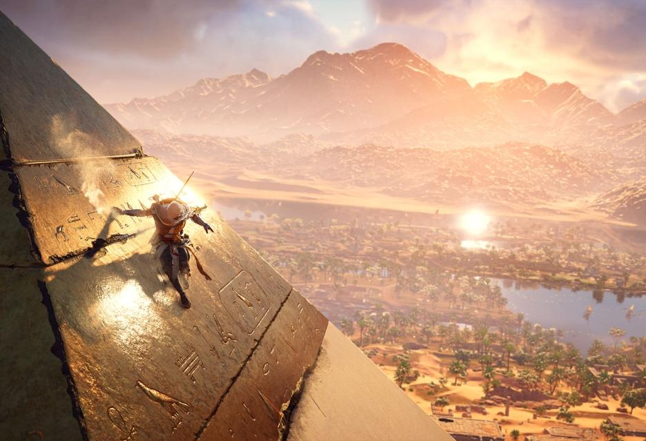 Assassin's Creed: Origins - tak wygląda rozgrywka na Xbox One X