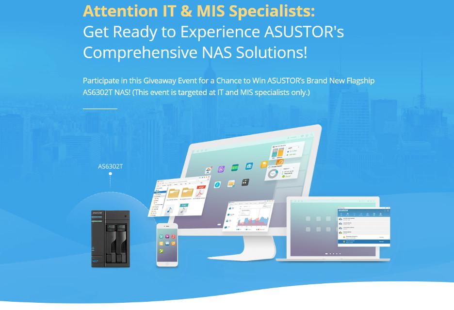 Specjalisto IT, wygraj serwer NAS od Asustora