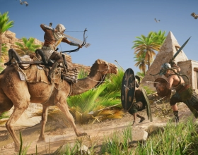 Dużo walk na nowym materiale z Assassin's Creed: Origins