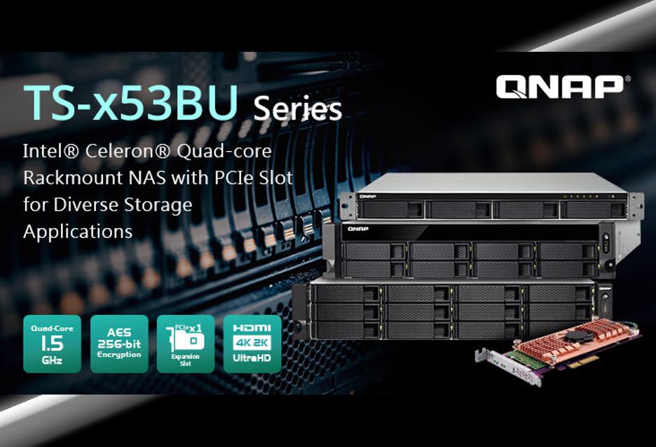 QNAP TS-x53BU - wydajny i elastyczny NAS