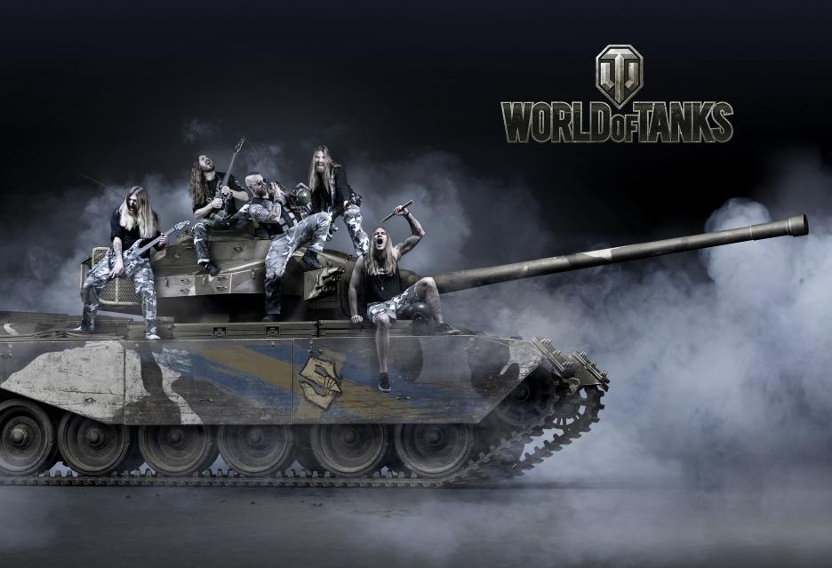 Zespół Sabaton i Akira Yamaoka tworzą nową ścieżkę dźwiękową i efekty do World of Tanks