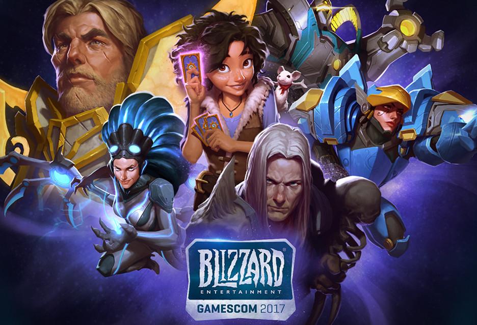 Blizzard zapowiada moc atrakcji na Gamescom 2017