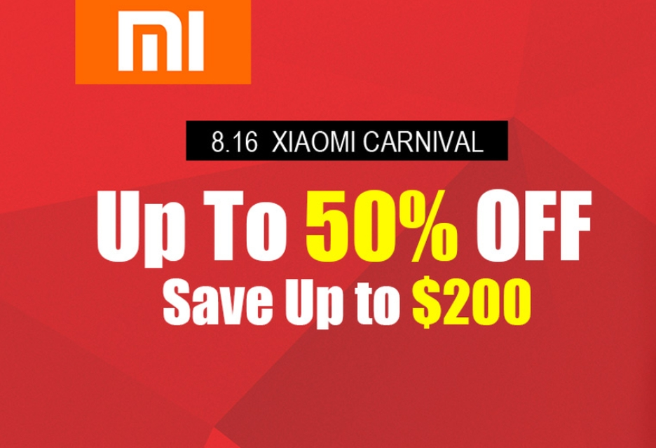 Xiaomi Carnival w Geekbuying - rabaty do 50%