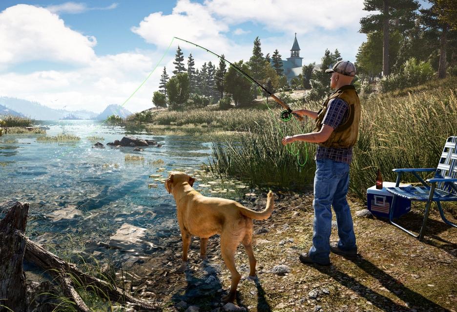 Nowy, całkiem obszerny materiał z Far Cry 5