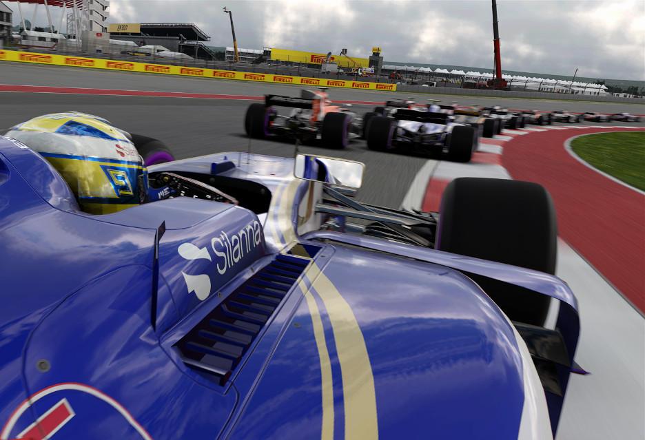 F1 2017 ocenione na 8 i pół