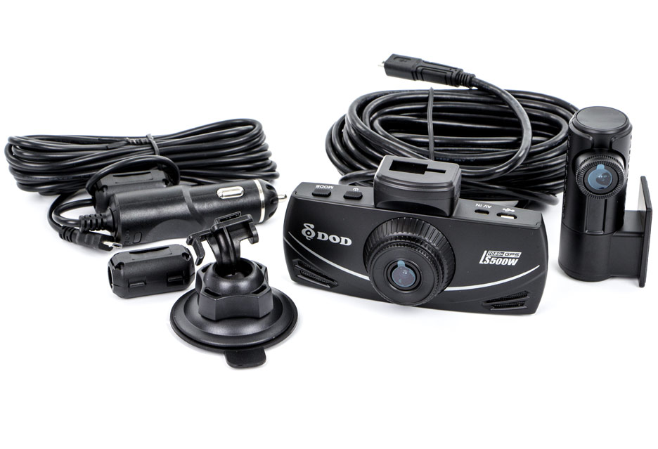 DOD LS500W - test wideorejestratora z dwoma kamerami | zdjęcie 1