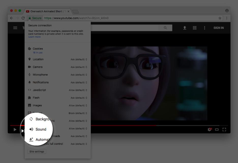 Chrome zapamięta wrzeszczące strony