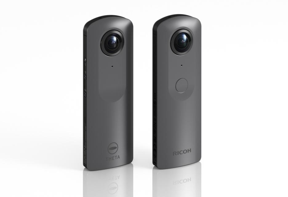 Ricoh Theta V - kamera sferyczna - 4K z systemem Android [JUŻ W SPRZEDAŻY]