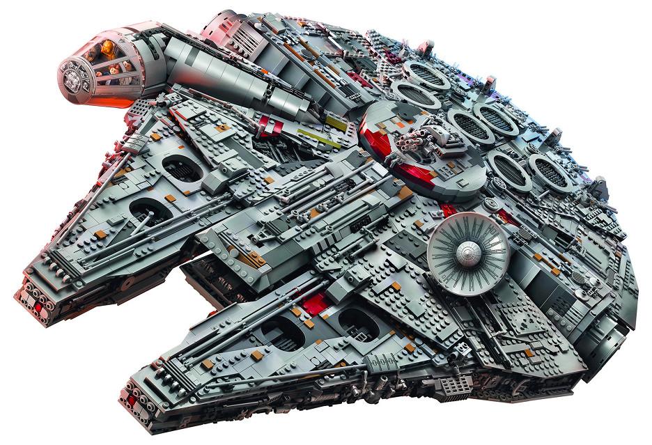 Sokół Millennium z 7541 klocków LEGO