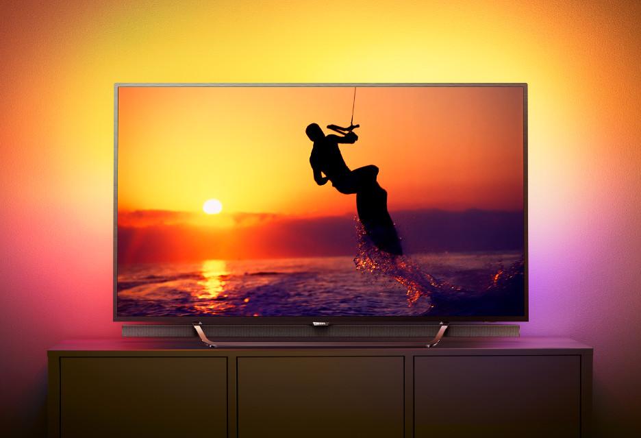 Telewizor Philips 8602 - 4K, HDR, kropki kwantowe i Ambilight